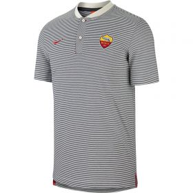 AS Roma Authentic Grand Slam Polo - White