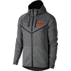 Barcelona Authentic Tech Fleece Windrunner - Dk Grey