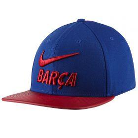 Barcelona Pro Pride Snap Back Cap - Royal Blue