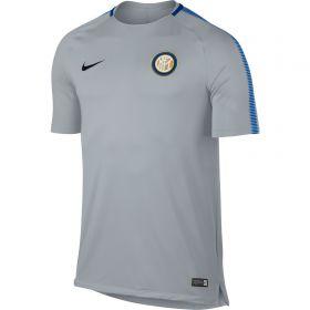 Inter Milan Squad Training Top - Grey