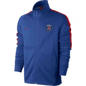 Paris Saint-Germain Authentic Franchise Jacket - Royal Blue