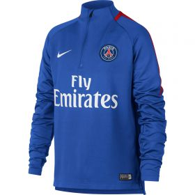 Paris Saint-Germain Squad Drill Top - Blue - Kids