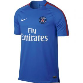 Paris Saint-Germain Squad Training Top - Blue