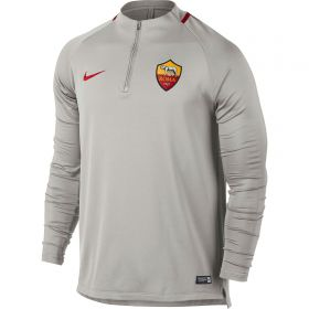 AS Roma Squad Drill Top - White