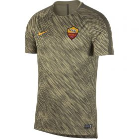 AS Roma Squad Pre Match Training Top - Green
