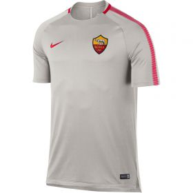 AS Roma Squad Training Top - White