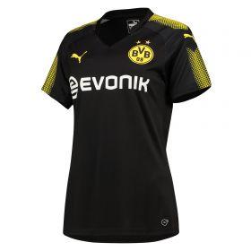 BVB Away Shirt 2017-18 - Womens with Akanji 16 printing