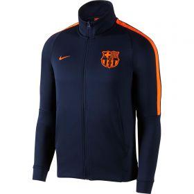 Barcelona Authentic Franchise Jacket - Dk Blue
