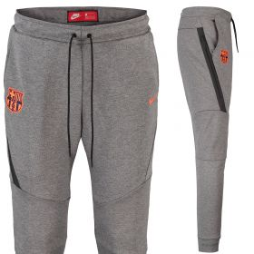 Barcelona Authentic Tech Fleece Pant - Dk Grey