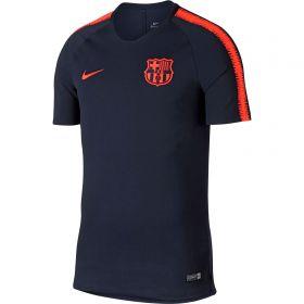Barcelona Squad Training Top - Dk Blue