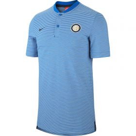 Inter Milan Authentic Grand Slam Polo - Royal Blue