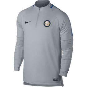 Inter Milan Squad Drill Top - Grey