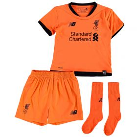 Liverpool Third Infant Kit 2017-18 with Virgil 4 printing