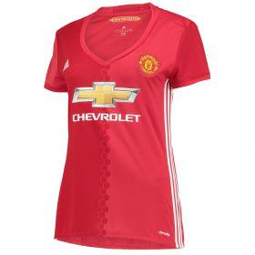 Manchester United Home Shirt 2016-17 - Womens with Ibrahimovic 9 printing