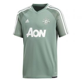 Manchester United Training Jersey - Green - Kids