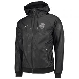 Paris Saint-Germain Authentic Windrunner - Black