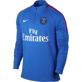 Paris Saint-Germain Squad Drill Top - Blue