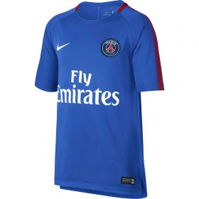 Paris Saint-Germain Squad Training Top - Blue - Kids