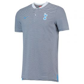 Tottenham Hotspur Authentic Grand Slam Polo - Light Blue
