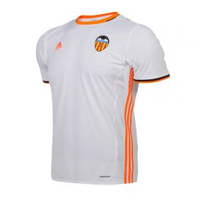 Valencia CF Home Shirt 2016-17 with Rafa Mir 27 printing