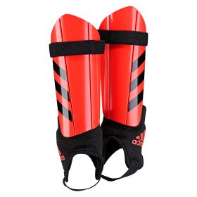 adidas Ghost Shinguards - Solar Red/Black - Youth