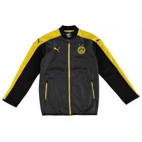 BVB International Training Jacket - Black - Kids