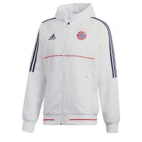 Bayern Munich Presentation Jacket - White