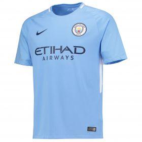Manchester City Home Stadium Shirt 2017-18 with Zinchenko 35 printing