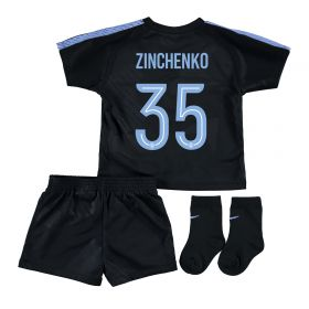 Manchester City Third Cup Stadium Kit 2017-18 - Infants with Zinchenko 35 printing