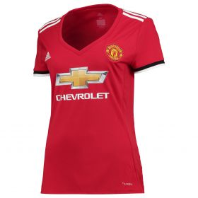 Manchester United Home Shirt 2017-18 - Womens with Alexis 7 printing