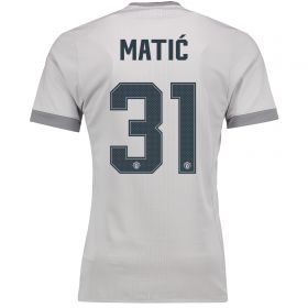 Manchester United Third Adi Zero Cup Shirt 2017-18 with Matic 31 printing