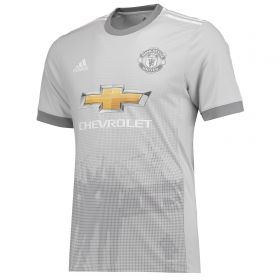 Manchester United Third Adi Zero Shirt 2017-18 with Lukaku 9 printing