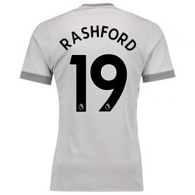 Manchester United Third Adi Zero Shirt 2017-18 with Rashford 19 printing