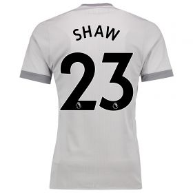 Manchester United Third Adi Zero Shirt 2017-18 with Shaw 23 printing