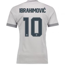 Manchester United Third Cup Adi Zero Shirt 2017-18 with Ibrahimovic 10 printing