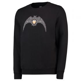 Valencia CF Bat Crew Neck Sweater - Black - Adult