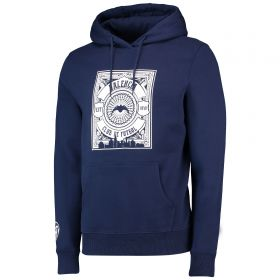 Valencia CF Gothic Graphic Hoodie - Navy - Adult