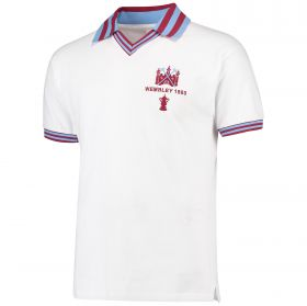 West Ham Utd 1980 FA Cup Final Shirt - White