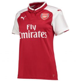 Arsenal Home Shirt 2017-18 - Womens with Monreal 18 printing