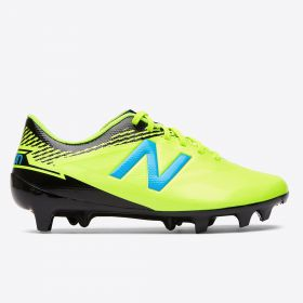 New Balance Furon 3.0 Dispatch Firm Ground Football Boots - Yellow - Kids