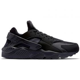 Nike Air Huarache Trainers - Black/Black/White