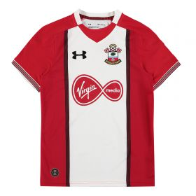 Southampton Home Shirt 2017-18 - Kids with Carrillo 9 printing