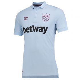 West Ham United Third Shirt 2017-18 with J. Mario 18 printing