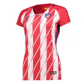 Atlético de Madrid Home Stadium Shirt 2017-18 - Womens with Vitolo 23 printing