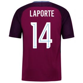 Manchester City Away Stadium Cup Shirt 2017-18 with Laporte 14 printing