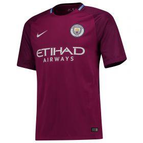Manchester City Away Stadium Shirt 2017-18 - Kids with Laporte 14 printing