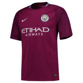 Manchester City Away Stadium Shirt 2017-18 with Laporte 14 printing