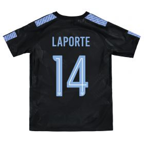 Manchester City Third Stadium Cup Shirt 2017-18 - Kids with Laporte 14 printing