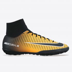 Nike Mercurial Victory VI Dynamic Fit Astroturf Trainers - Laser Orange/Black/White/Volt