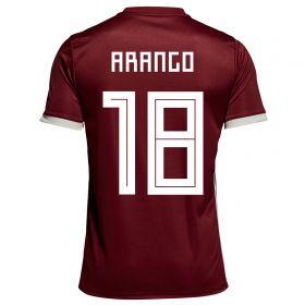 Venezuela Home Legends Shirt 2018 with Arango 18 printing